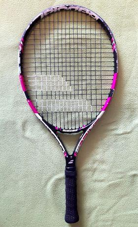 rakieta tenisowa juniorska BABOLAT PURE DRIVE PINK JR23