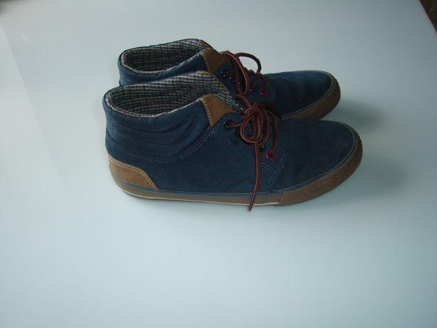 Кожаные кеды, ботинки Некст Next , р 4 , наш 36-37, стелька 23,5 см,