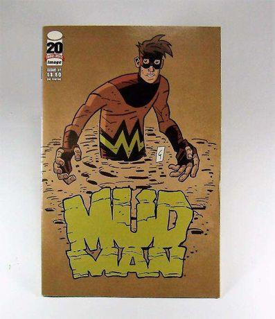 BD Mud Man Image Comics