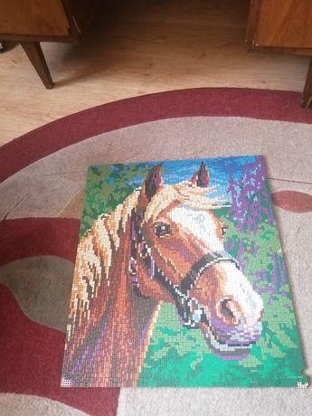 Obraz układanka koń
