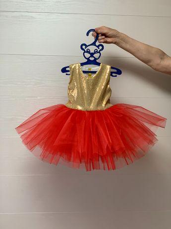 Новое нарядное платье 1 -1,5годик
