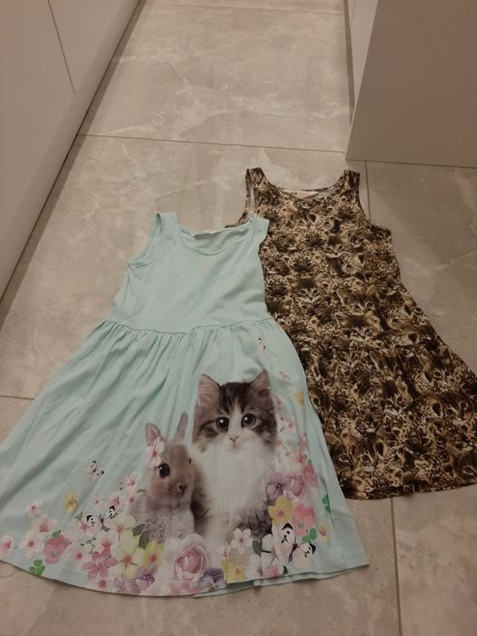 Zestaw 2 sukienek h&m 110 116 Radzionków - image 1