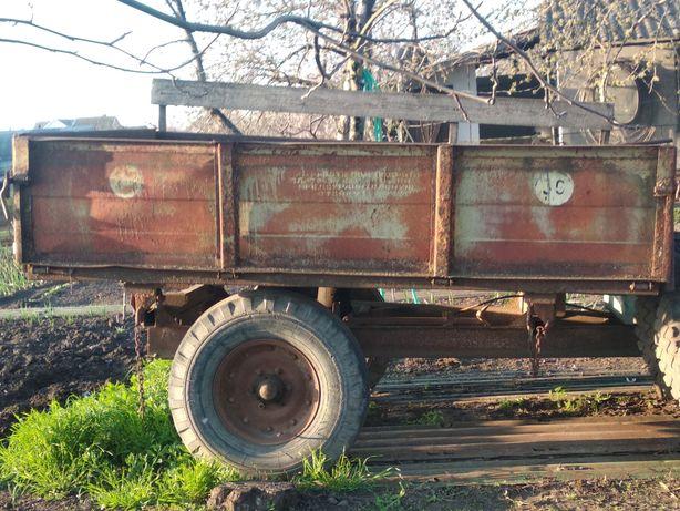 Прицеп тракторный самосвал