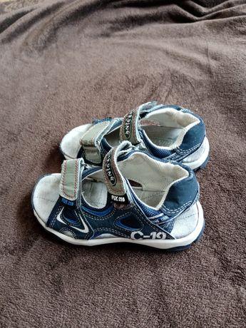 Sandałki chłopięce 26