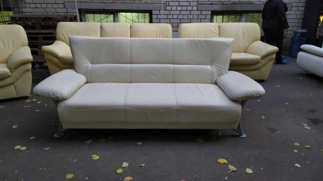 Кожаный диван тройка «Koinor» (061011)