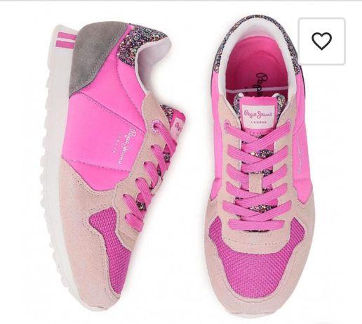 Adidasy sneakersy Pepe Jeans różowe new balance nike Reebook converse