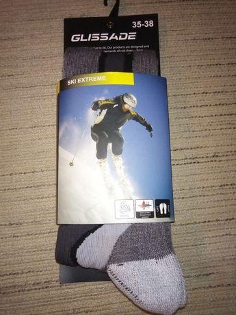 Лыжные термо носки Glissade
