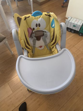 Стульчик для кормления Chicco Polly 2 Start Tiger