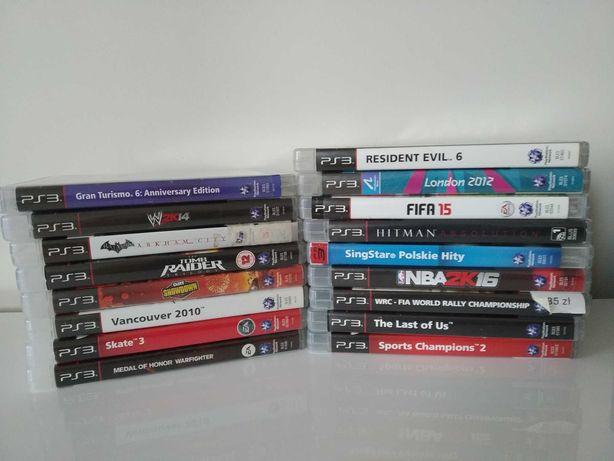 Sprzedam gry i zestaw karaoke na PS3