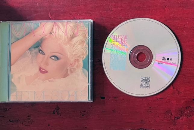 Madonna - Bedtime Stories - Cd Album Germany