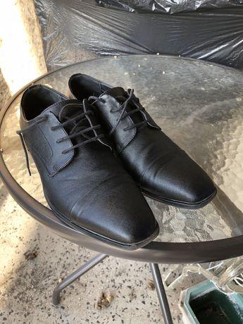 Buty wyjście czarne rozm 40