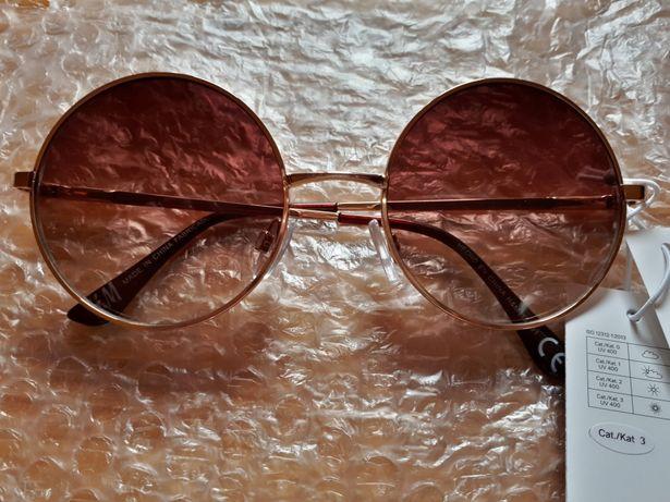 Okrągłe okulary H&M
