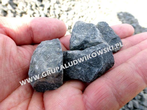 Grys czarny ozdobny ogrodowy Kamień Bazaltowy do Gabionów Kora Granit