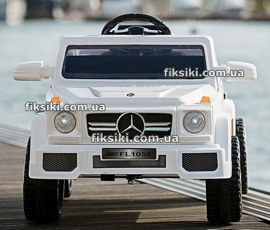 Детский электромобиль M2788 белый, Дитячий електромобiль