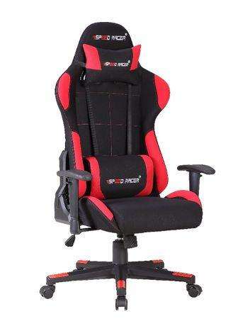 Кресло компьютерное игровое геймерское тканевое Speed Racer Наложка