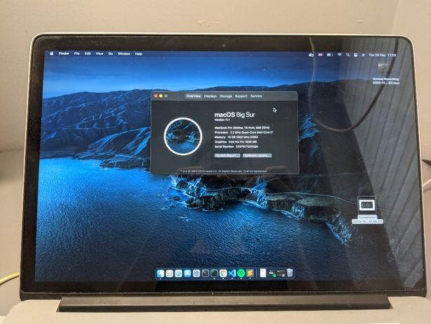 Macbook Pro 15' Mid 2014 16GB RAM Intel Core i7 240GB SSD