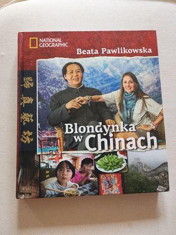Blondynka w Chinach, blondynka w kwiecie lotosu, Beata Pawlikowska