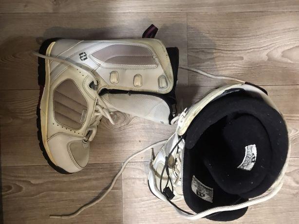 Сноубордические ботинки боты morrow 37-38 размер 24,5 см