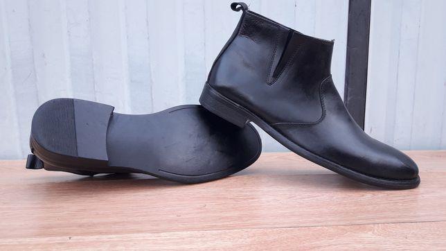 Новые Kenneth Cole Американские сапоги ботинки 43 кожа натур.