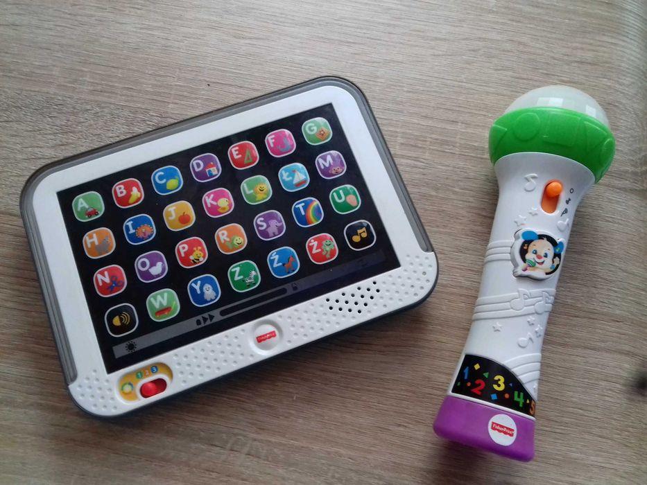 Fisher Price tablet malucha i mikrofon Piła - image 1