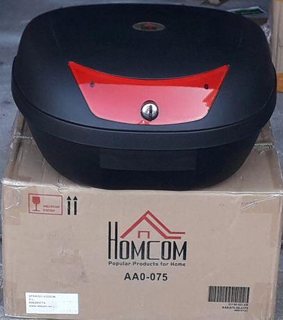 Top Case mala  moto 48 L 59x43x33 cm 2 capacetes
