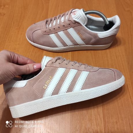 Кроссовки Adidas Gazelle original 39-38р. 24.5см натуральная кожа