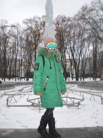 Зимнее пальто ТМ Барбарис,146