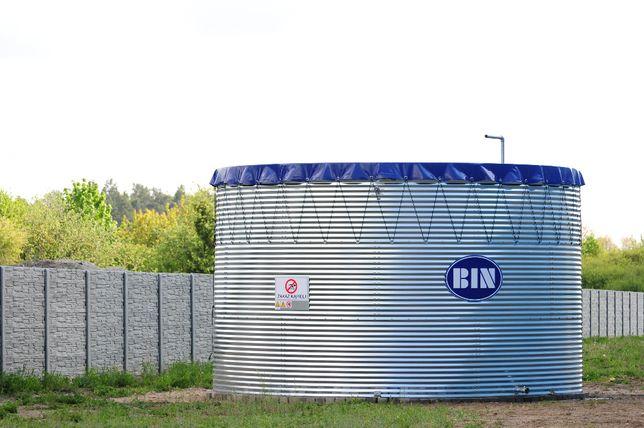 Zbiornik retencyjny na wodę BIN, deszczownia, studnia