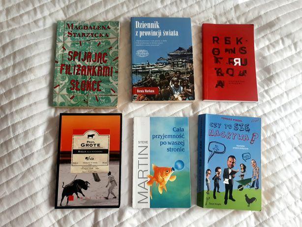 Książki 6 sztuk