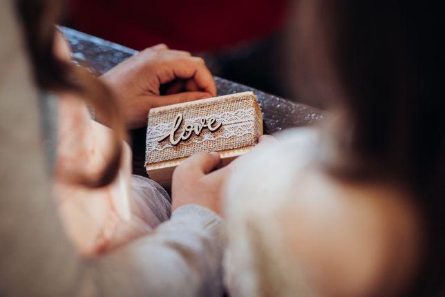Pudełko na obrączki, ślub, wesele, styl rustykalny.