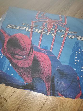 Pościel Spiderman,poszewka na poduszkę i kołdrę.