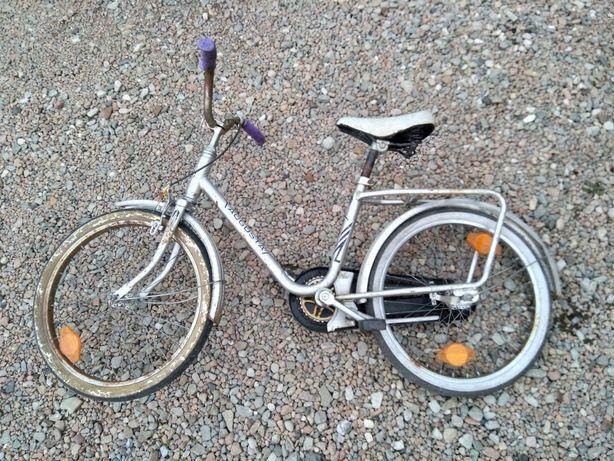 Rower dziecięcy 18 srebrny