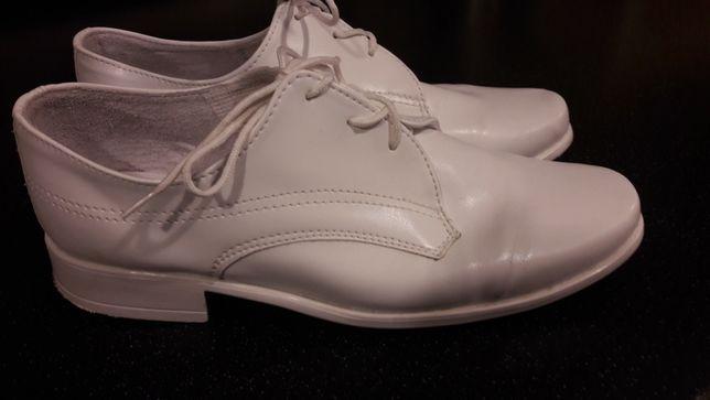 Buty komunijne białe 33 rozmiar