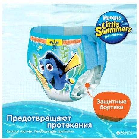 Подгузники huggies little swimmers 5-6