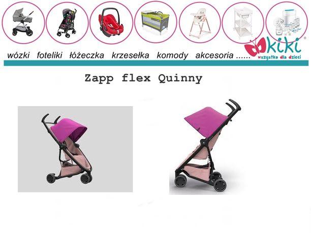 Zapp flex Pink on blush Quinny wózek spacerowy możliwość fotelik