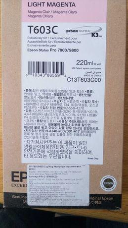 Картридж T603C Epson Stylus Pro 7800/9800