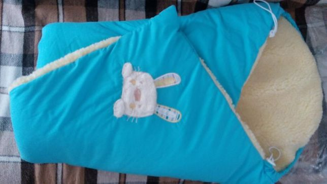 Одеяло конверт на овчине ТМ Соня