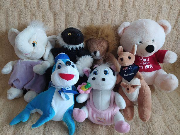 Pluszaki zabawki maskotki ZESTAW