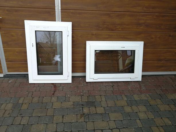 Okno PCV plastikowe 70X100