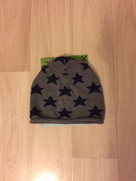 Фирменная демисезонная шапка H&M 4-9 лет