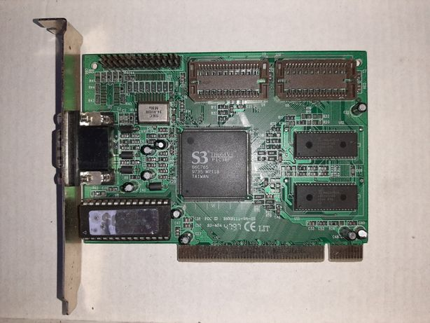 Видеокарта PCI рабочая