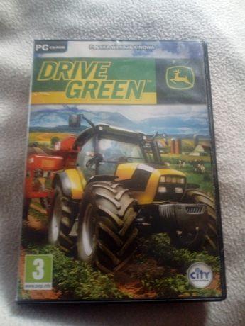 Gra john deere drive green