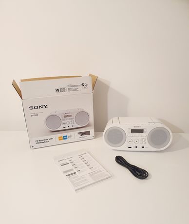 Sony zs-ps50 nowy boombox, CD, USB, radio