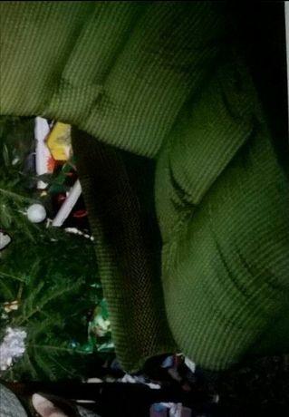 Fotel, ciemna zieleń, to pierwsze to prawdziwy kolor