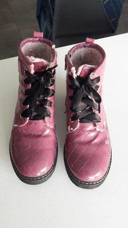 Super buciki dla dziewczynki 34
