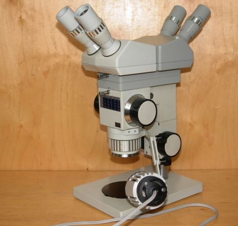 Mikroskop stereoskopowytechniczny Technival 2 Zeiss asystent PZO Leica