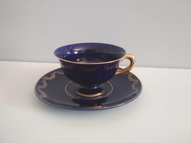 Chávena de chá antiga