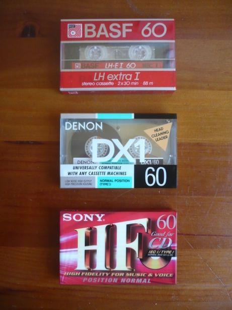 Cassetes audio ( novas )