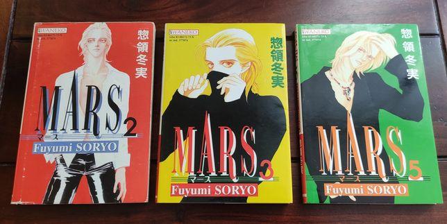 3 komiksy Mars. Nr 2, 3, 5