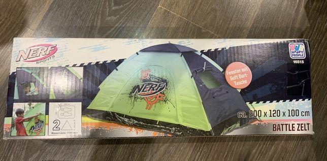 Палатка Nerf Zelt Outdoor Battle 2-х місна /для двох / дитяча 200